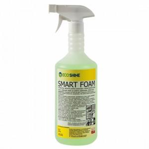 Eco Shine SMART FOAM pianka czyszcząca. Usuwa tłuszcze, oleje, smary, zżółkniałe osady po paleniu papierosów.