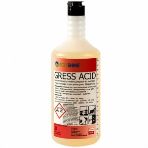 Eco Shine GRESS ACID do płytek, gressu, po remoncie 1L