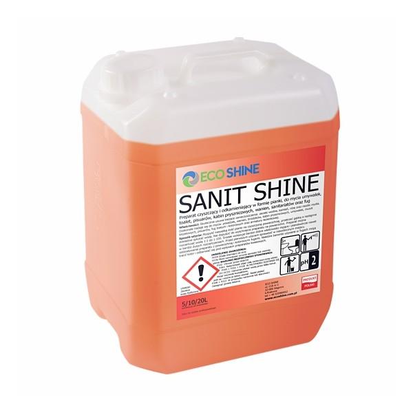 Eco Shine SANIT pianka do kabin, fug, łazienki, sanitariatów