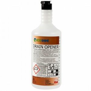 Eco Shine DRAIN OPENER Zagęszczony preparat do udrażniania rur i odpływów.