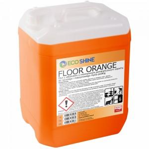 ECO SHINE Floor Orange 5L płyn do mycia podłóg INTENSYWNY POMARAŃCZOWY ZAPACH