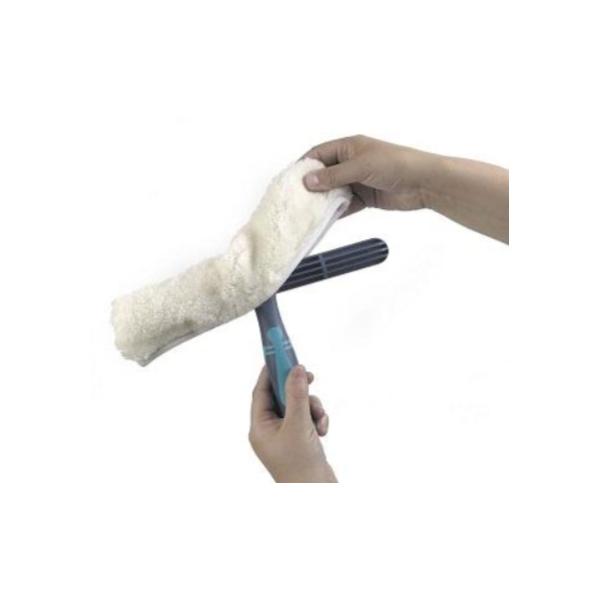 Zmywak do mycia okien z wkładem WASH baranek 35 cm