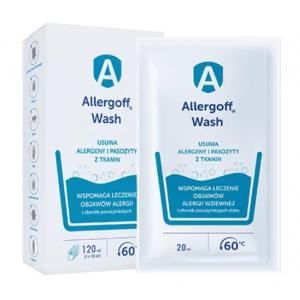 Allergoff WASH dodatek do prania usuwa alergeny i pasożyty tkanin